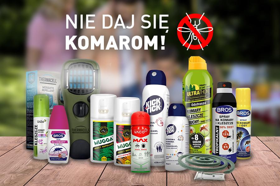 środki na komary dla ludzi, dzieci